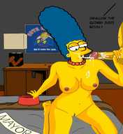 young marge simpson porn