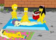 List of the simpsons nude scenes, pregnant big tits